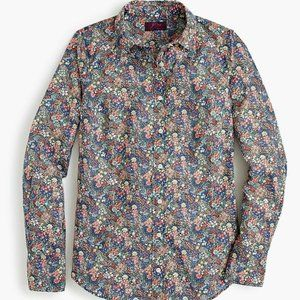 Perfect shirt in Liberty® elderberry floral
